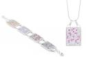 Souprava DNA Čip - náhrdelník a náramek